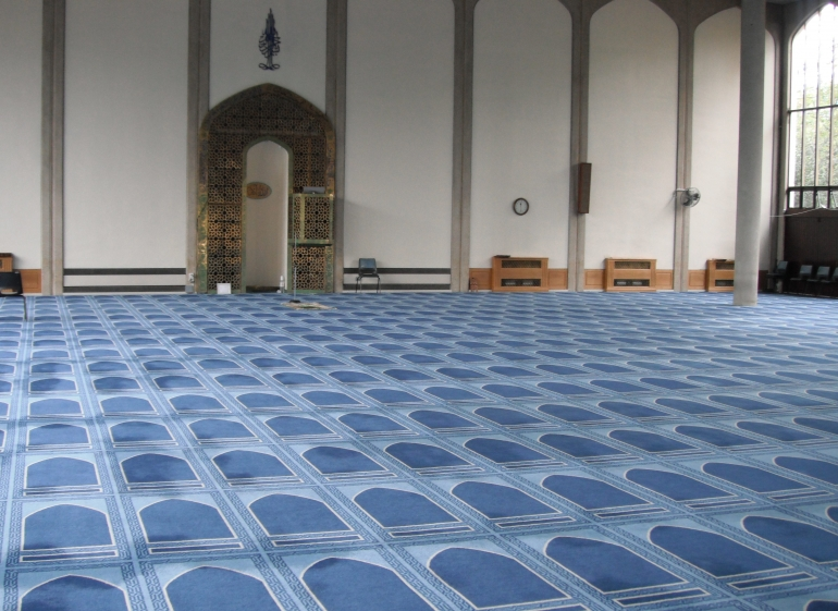 Changing place for Nafl after Fard Salah