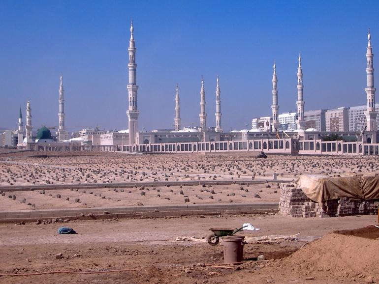 Where is Jabir ibn Abdullah buried?