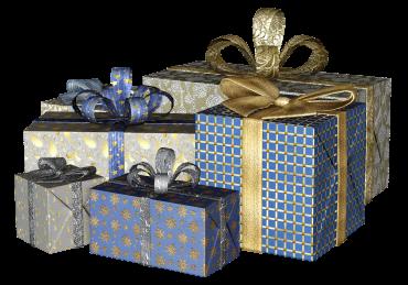 No boxed gifts