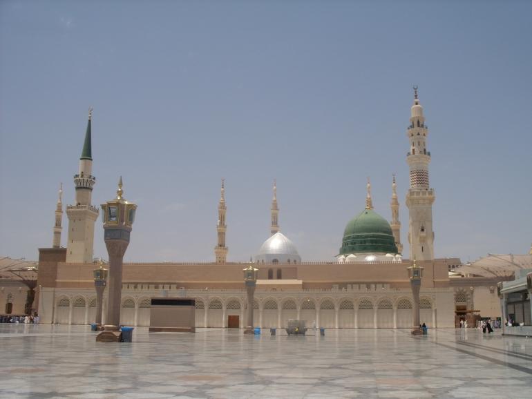 In the company of Mufti Taqi Usmani in Madinah Munawwarah