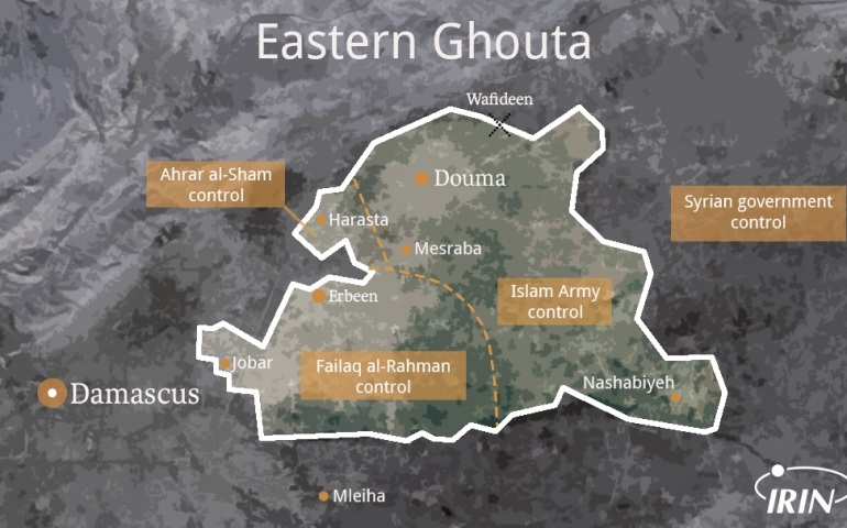 Eastern Ghouta: 'Lights, Camera, Action'