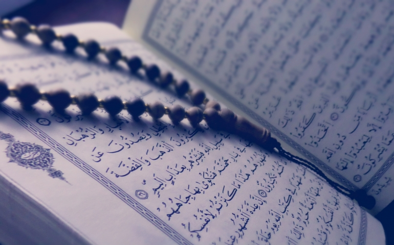 Collective Quran recitation after death