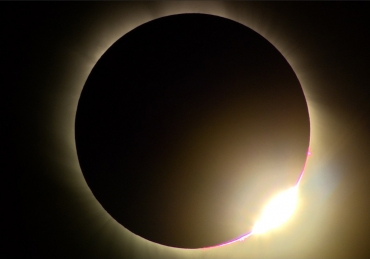 Salah if eclipse is not visible