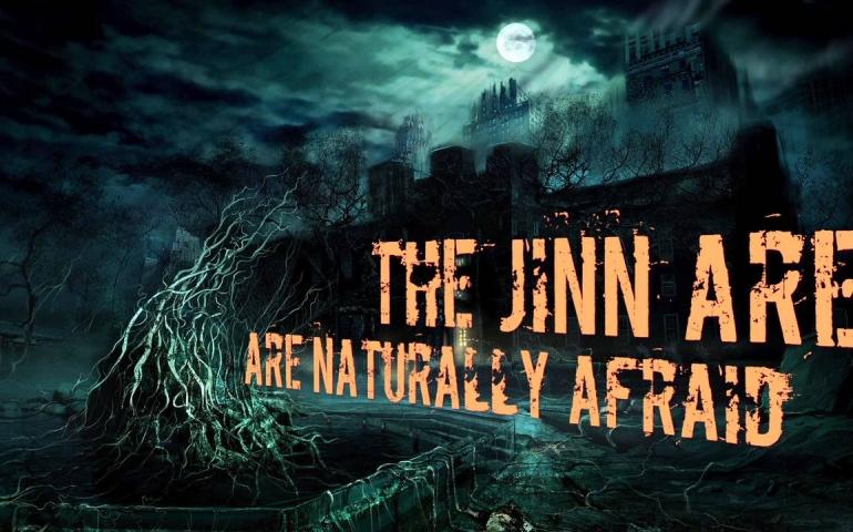 Jinn entering human body