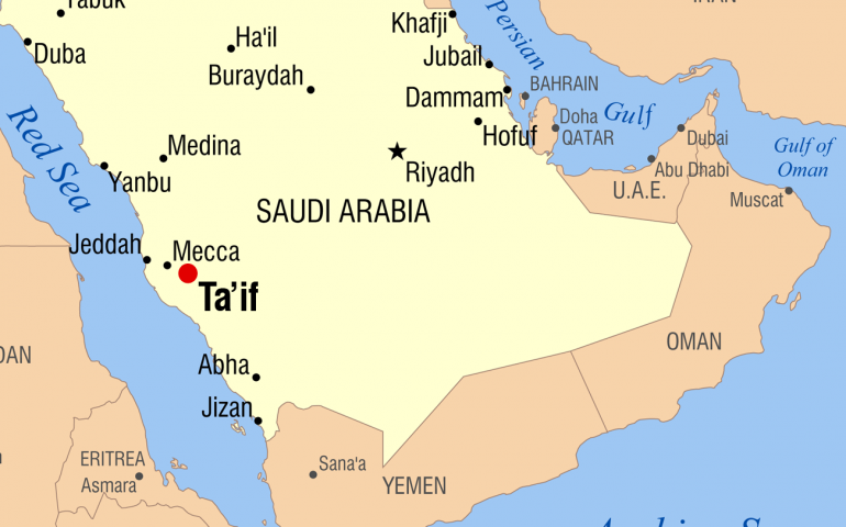 Is Taif in Hill or outside of Hill?