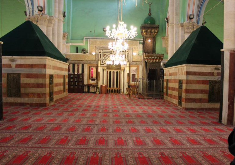Grave of Prophet Ibrahim and other Prophets