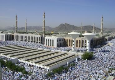 Combining Salah in Arafah