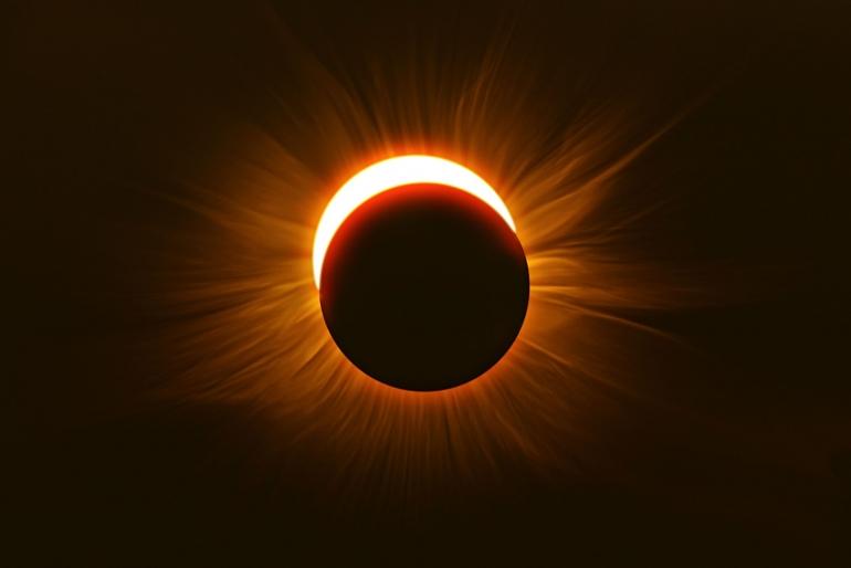 Solar eclipse in the UK on Thursday 10 June 2021